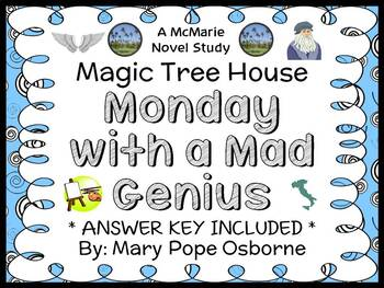 Monday with a Mad Genius : Magic Tree House #38 Novel Stud