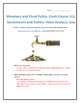 Monetary and Fiscal Policy: Crash Course U.S. Government a