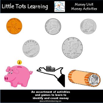 Money Activities for any Money Unit - Common Core Aligned