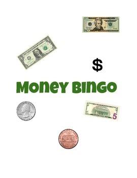 Money Bingo: Coins and Bills