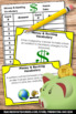 Financial Literacy Money and Banking Vocabulary Task Cards