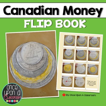 Canadian Money Flip Book