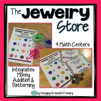 Money Math Centers and Task Cards