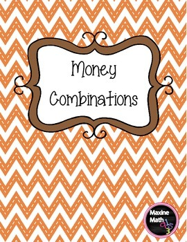 Money Combinations Pack 2.MD.C.8