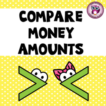 Comparing Money Worksheets