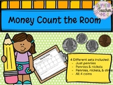 Money Count the Room - Math Work Stations