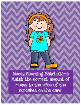 Money Counting Math Center (English and Spanish)