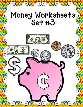 Money:  Counting Money Set 3