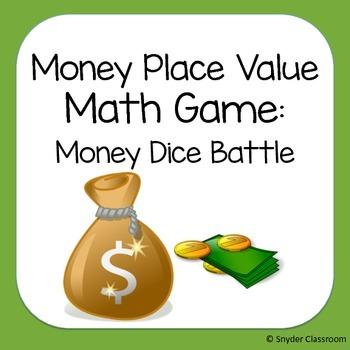 Money Place Value Math Game
