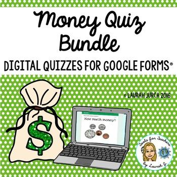 Money Digital Quiz Bundle for Google Forms