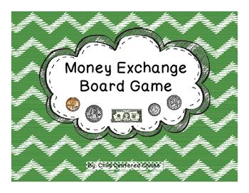Money Exchange Board Game