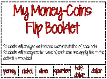 Money Flip Booklet-Coins