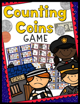 Money Game: Help the Police Catch the Thieves! - 30 Task Cards