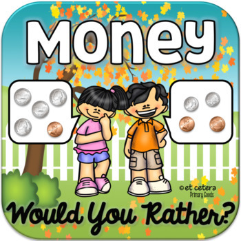 Money Game: Would You Rather? ~ A PowerPoint Presentation