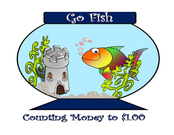 Money Go Fish Game - Counting Money to $1.00