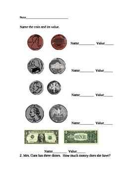 Money Identification