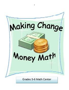 Money Math Activity