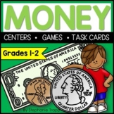 Money Math Centers, Games, and Task Cards