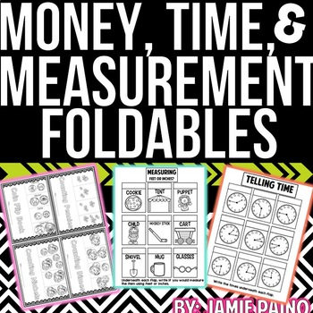 Money, Measurement, and Time Mini-Packet
