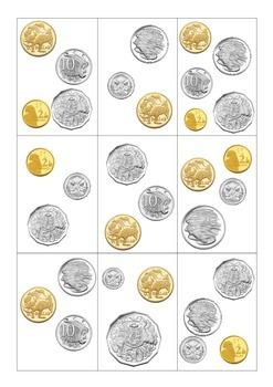 Money Memory - Australian Currency