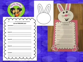Money, Money, Honey Bunny! persuasive writing