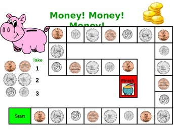 Money!! Money!! Money!! - Counting & Sorting Game