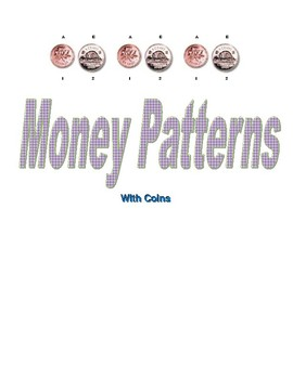 Money Patterning Activity With Canadian Coins