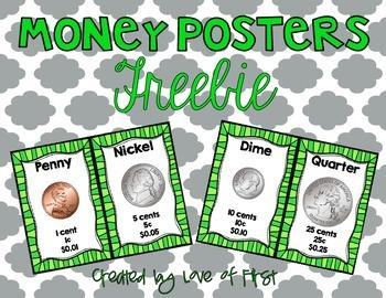 Money Posters FREEBIE