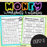 Money Worksheets for First and Second Grade1