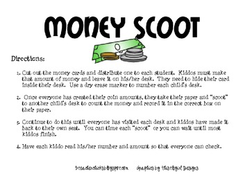Money Scoot Game