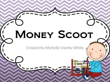 Money Scoot for 2nd Grade