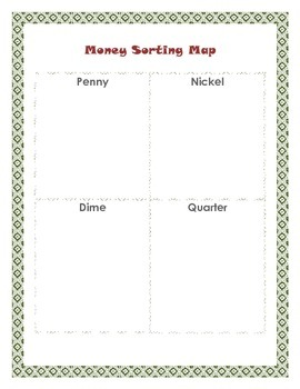 Money Sorting Map
