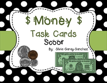 Money Task Cards: Scoot