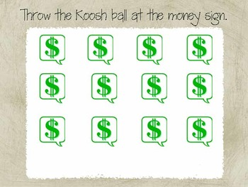 Money Toss for the SMARTboard