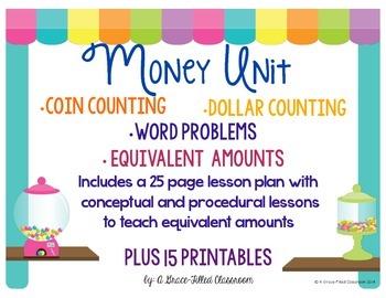 Money Unit {2nd Grade}