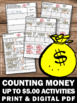 Money Activities Counting Dollars and Coins Task Cards Gam