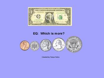 Money:  Which is more?