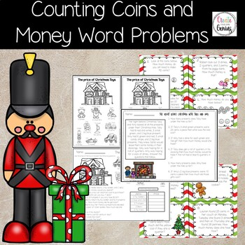 Money Word Problems and Worksheets
