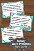 Money Word Problems Task Cards 5th Grade Math Centers Acti