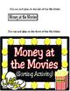 Money at the Movies (1st Grade Math 1.4C)