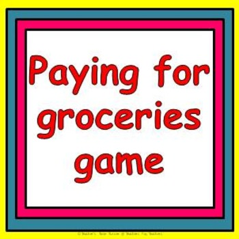 Money game - the grocery bingo shopping game
