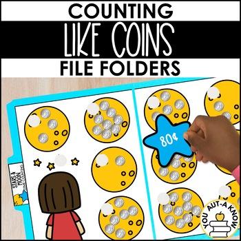 Money in the Bank: File Folders - Level 2
