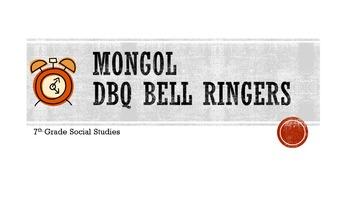 Mongol DBQ Bell Ringers
