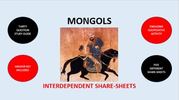 Mongols: Interdependent Share-Sheets Activity