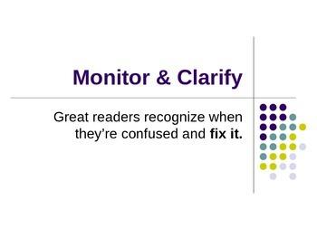 Monitor/Clarify PPT