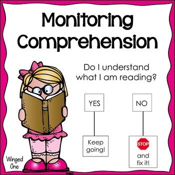 Monitoring Comprehension Poster: Girl and Boy {Melonheadz