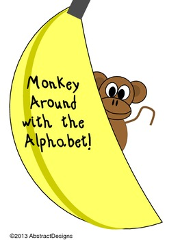 Monkey Around Alphabet (Word Wall Tags)