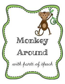 Monkey Around with Parts of Speech