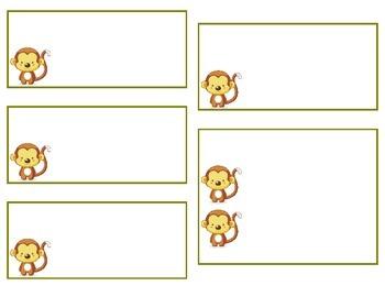 Monkey Cabinet/Drawer Plates