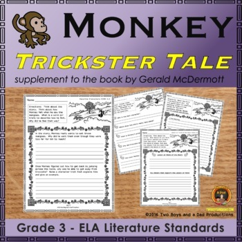 Monkey Trickster from India Support Pages
